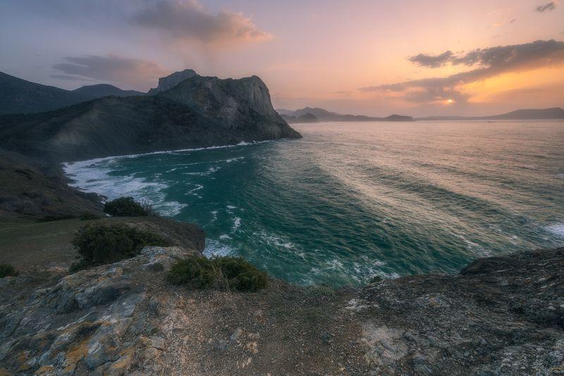 Крым, природа, море, черное море, морской пейзаж, пейзаж, Новый свет Прекрасный крымphoto preview