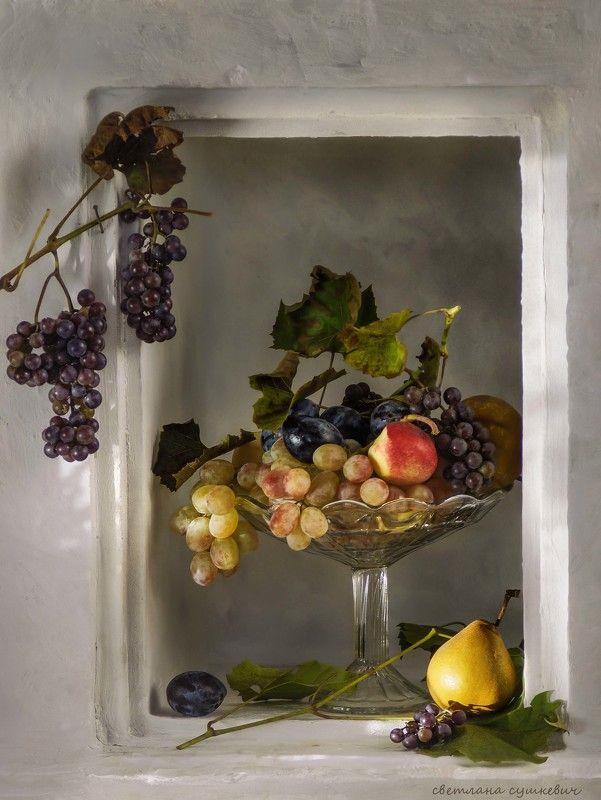 Виноград в нишеphoto preview