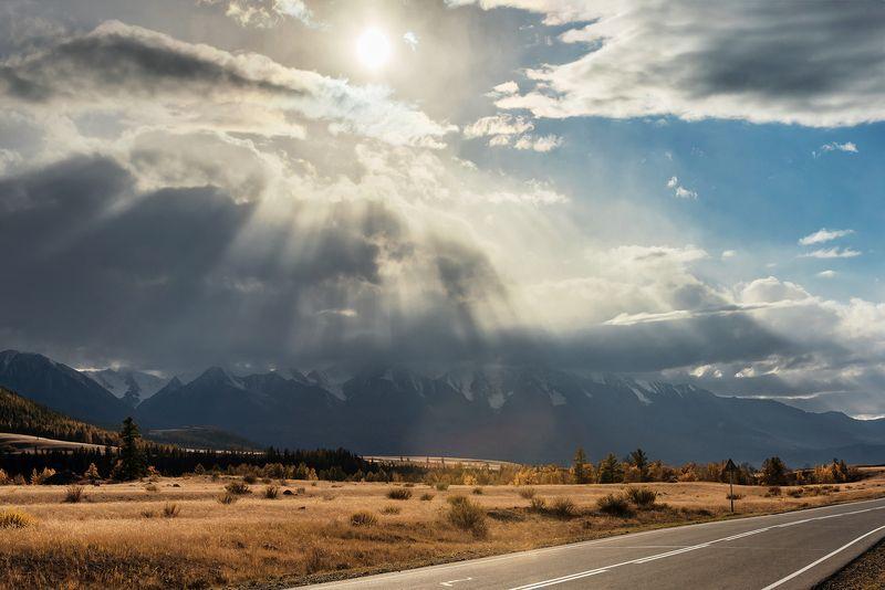алтай, горный алтай, чуйский тракт, курай, дорога Алтай, дорожные зарисовки, часть 1photo preview