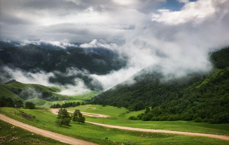 Вниз к облакам.photo preview