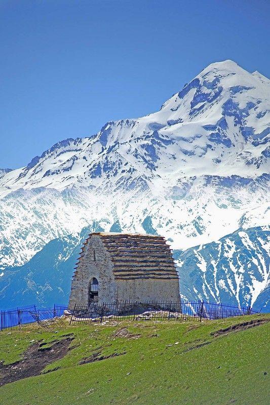 Ингушетия, Кавказ, Мят-Сели, древняя обсерватория Мят-Сели - древняя обсерваторияphoto preview