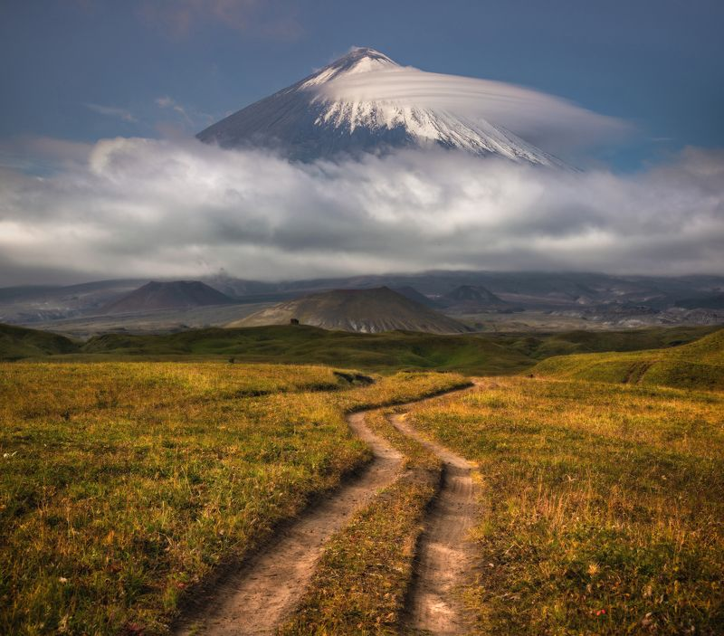 камчатка Вулкан Ключевская сопка.photo preview