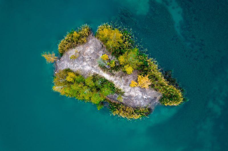 кондуки воронцовские горы аэрофотосъемка тульская область Остров в Кондуках.photo preview