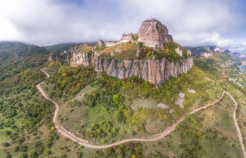 карачаево-черкесия, гора шоана, храм, Дорога к Храму. Карачаево-Черкесия г.Шоанаphoto preview