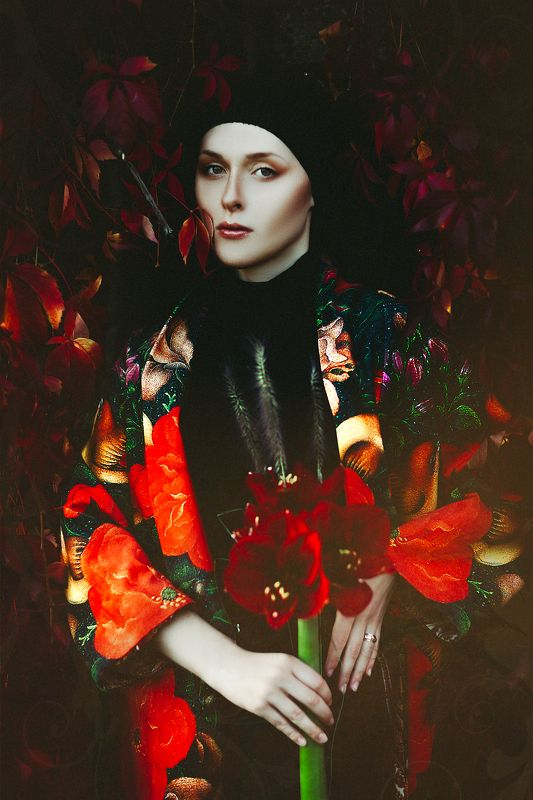 woman, portrait, fashion, beauty, outdoors The Divine Femininephoto preview