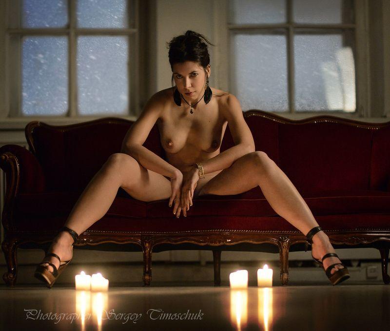 девушка спб А за окном метель метет, белая красавица...photo preview