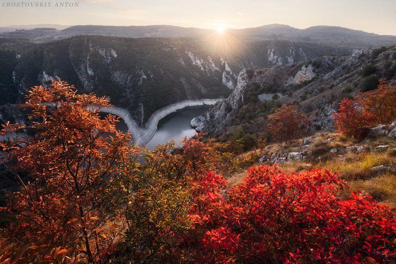 Сербия, фототур, фотопутешествие, пейзаж, осень, закат, Осень в Сербии | Фототур в Сербиюphoto preview