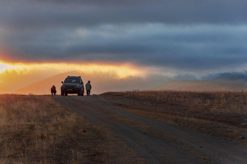 алтай, горный алтай, чуйский тракт, курай, дорога, джип, авто Алтай, дорожные зарисовки, часть 2photo preview