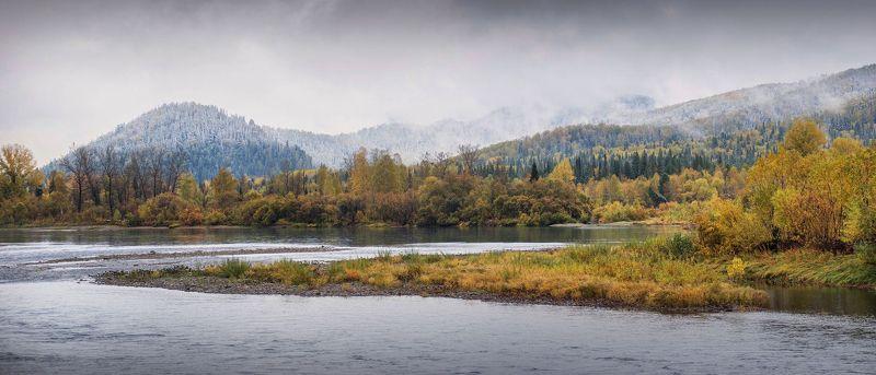 кузбасс, осень, природа, красота, вода, карьеры,мыски, золото Осени шаги...photo preview