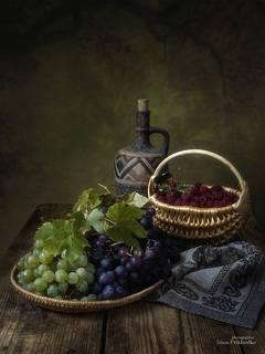 С малиной и виноградом