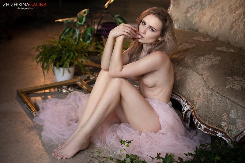 девушка, артню, ню, красивая, прикосновение, руки, girl, nu, nude, artnu, face, portrait Орнеллаphoto preview