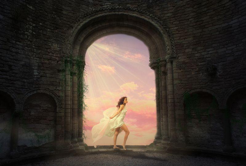 ворота, облака *****photo preview