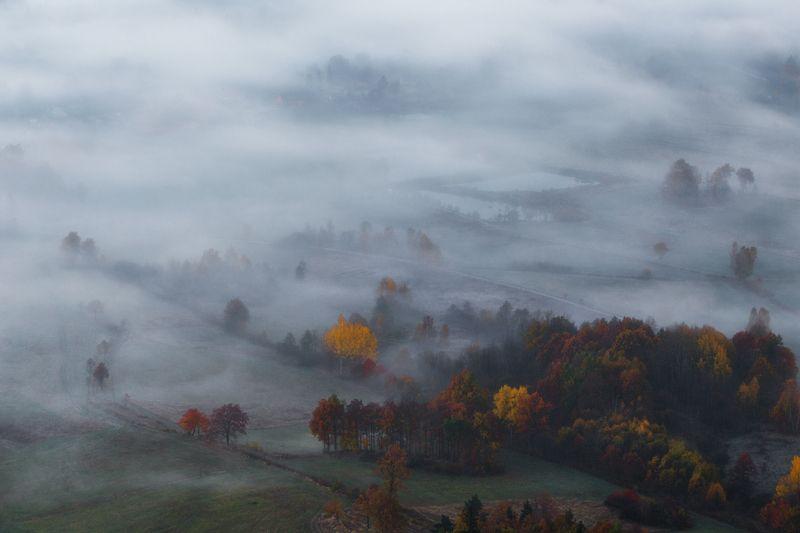 landscape,autumn,mountains,canon Before Sunrise II... фото превью