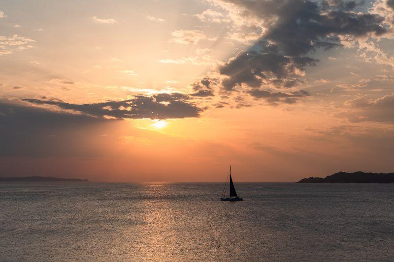sardegna,italy,mediterranean,sailing,sunset,sardinia, photo preview
