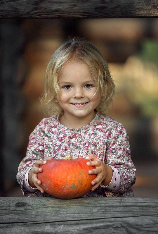 девочка, мальчик, дети, осень ***photo preview