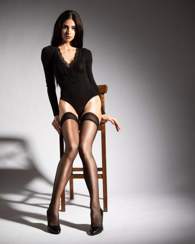 девушка,красивая,боди,чулки Девушкаphoto preview