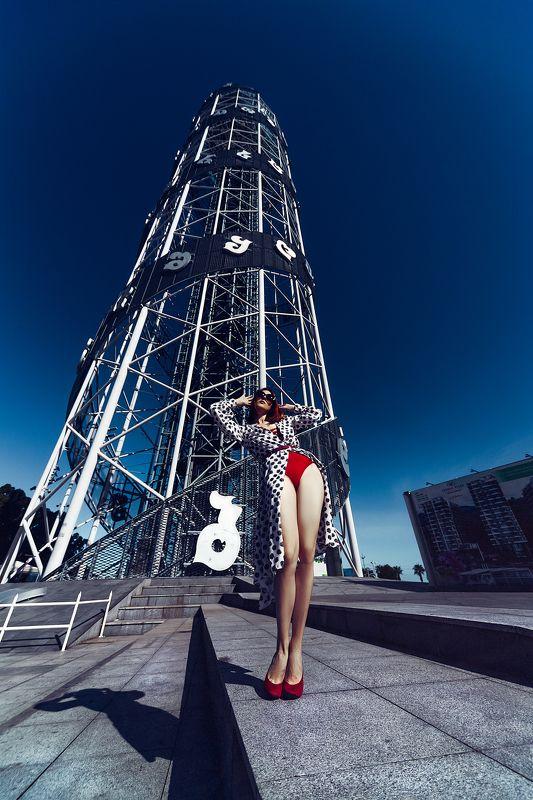 woman, portrait, fashion, beauty, outdoors Batumi fashionphoto preview