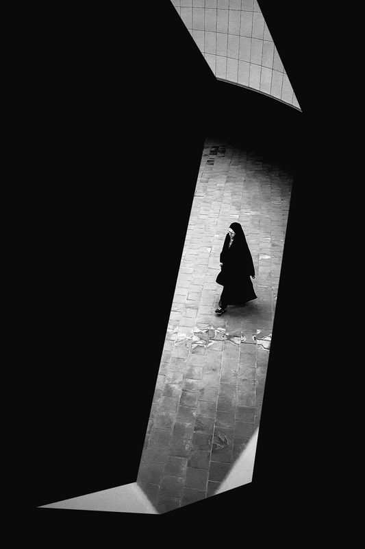 street, bnw, human, perspective, conceptual, art, fine art. Parts of Darknessphoto preview