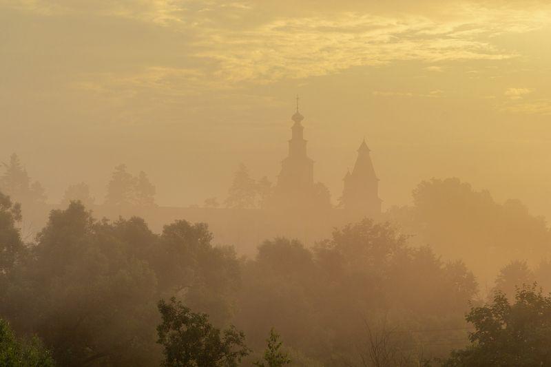 Истра Новоиерусалимский монастырь солнечным утромphoto preview