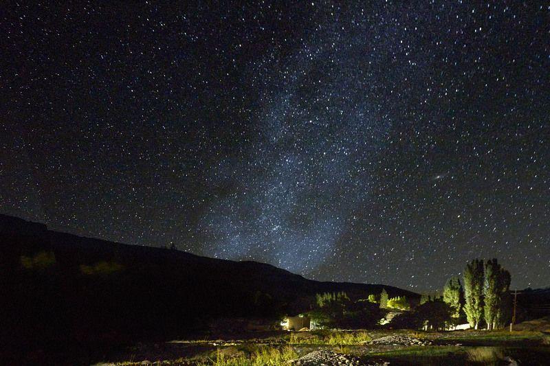 Памирская ночь… Кишлак Савноб.   Бартанг (высота 3500м.) Таджикистанphoto preview