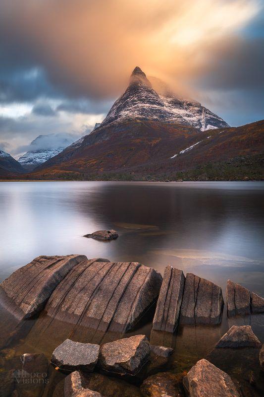 innerdalen,lake,mountain,trollheimen,norway,norwegian,long exposure,rock,shoreline,coast, The Tower фото превью