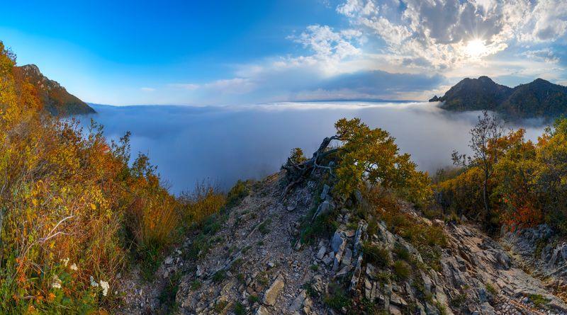 бештау,облака,осень,пейзаж,панорама,кмв Осень над облакамиphoto preview