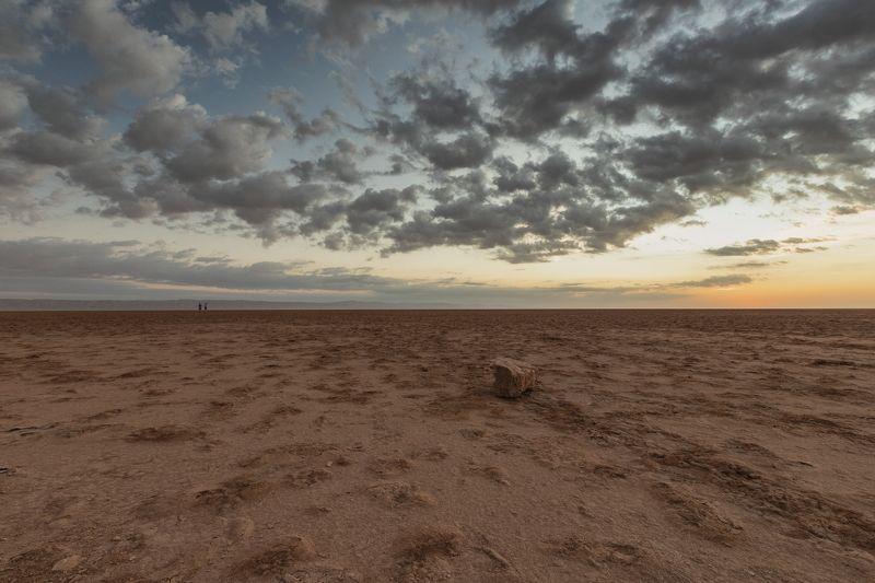 Рассвет на озере Шотт-эль-Джеридphoto preview