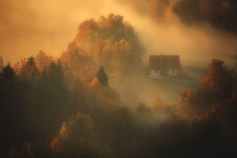 landscape,autumn,mountains,canon The Warmth of An Autumn Morning... фото превью
