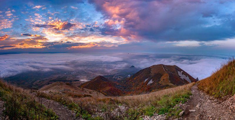 закат,облака,бештау,вершига,кмв,природа,пейзаж,октябрь,осень Про закат над облакамиphoto preview