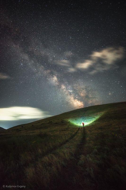крым, млечный путь Крымская ночьphoto preview