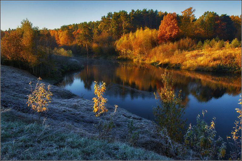 москва, осень, парк, озеро *photo preview