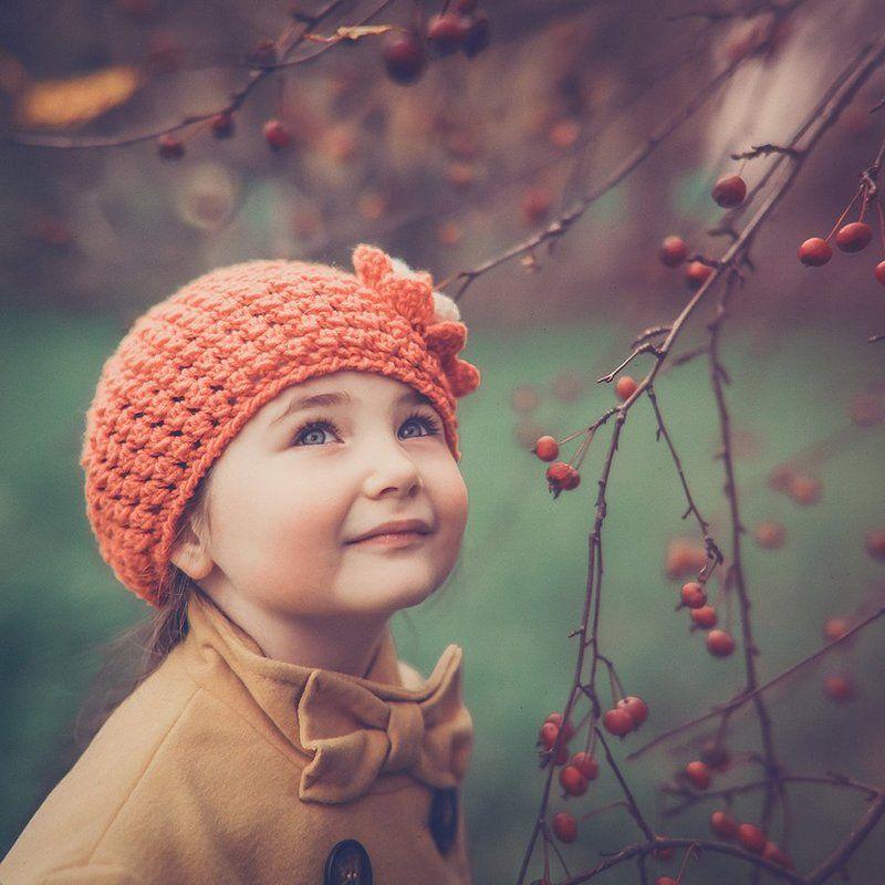 Девочка, Осень Осенний деньphoto preview