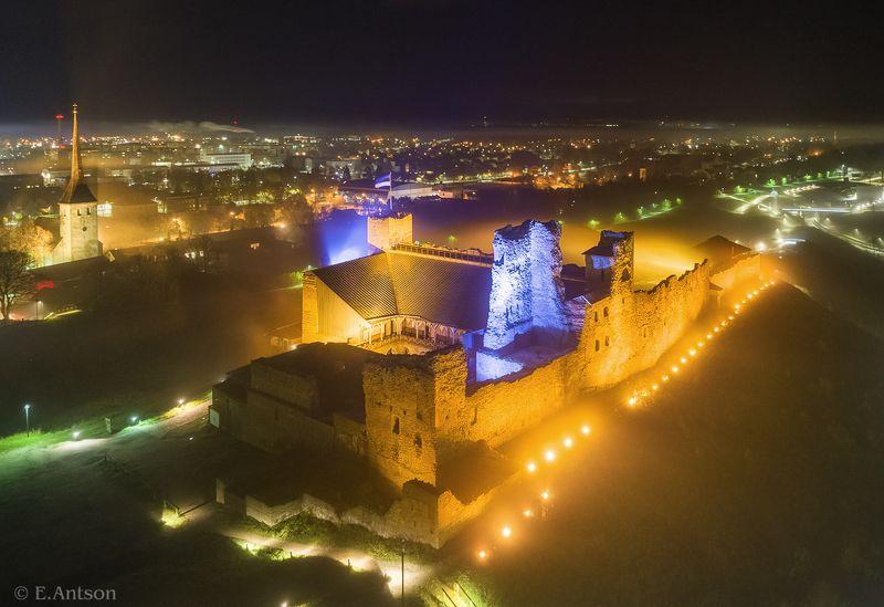 замок, город, архитектура, эстония Везенбергphoto preview