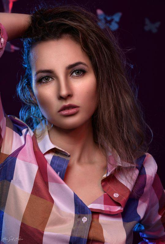 female, portrait, studio, sexy, beauty, beautiful, alaaseifeddinephotography photo preview