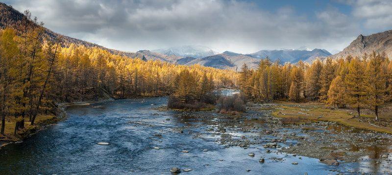 Большой Саян. Река Сенцаphoto preview