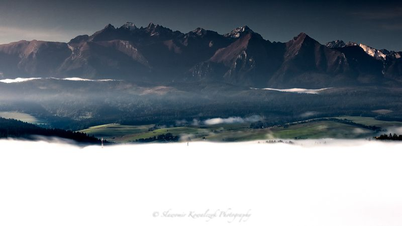 Tatra Mountains in a duvetphoto preview