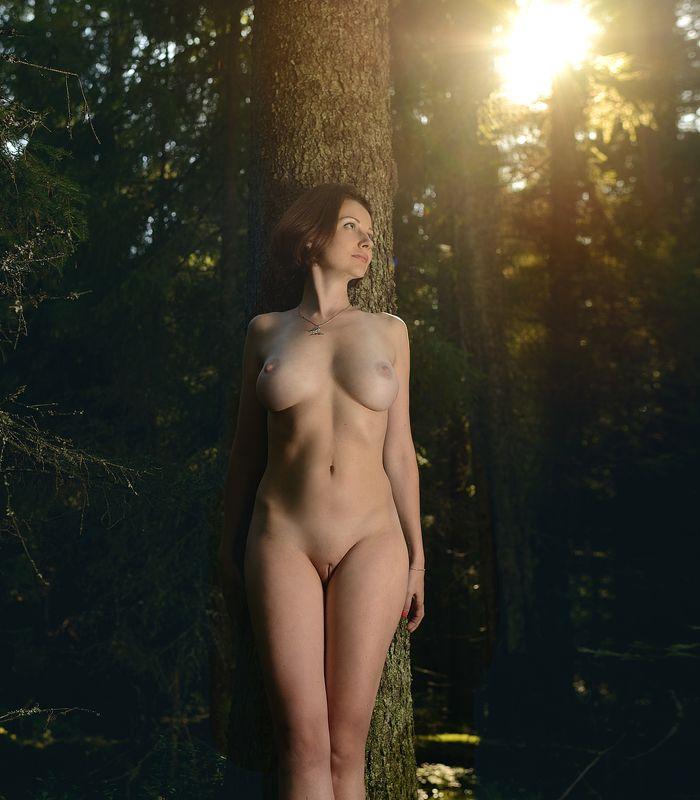 девушка лес Лесная... Прекрасная...photo preview