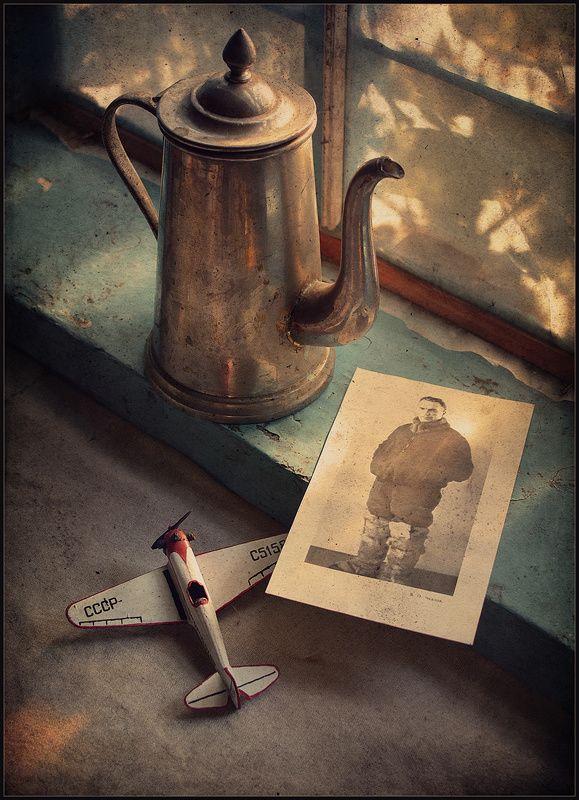 Советский летчик..photo preview
