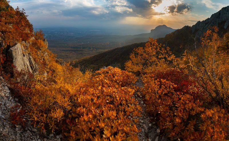 бештау,осень,пейзаж,панорама,кмв Золотая осеньphoto preview