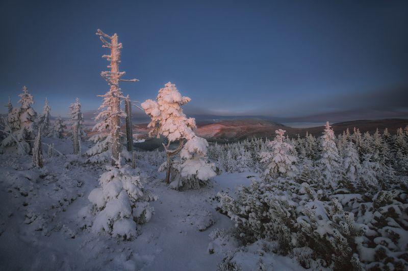 landscape,winter,mountains,canon Light of Hope... фото превью