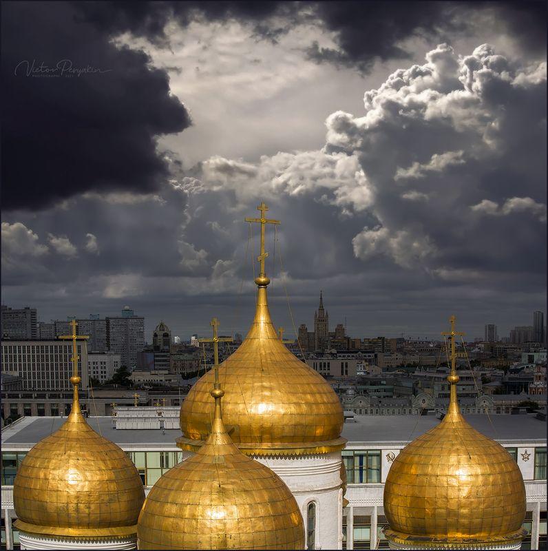 Золотые купола Москвы....photo preview