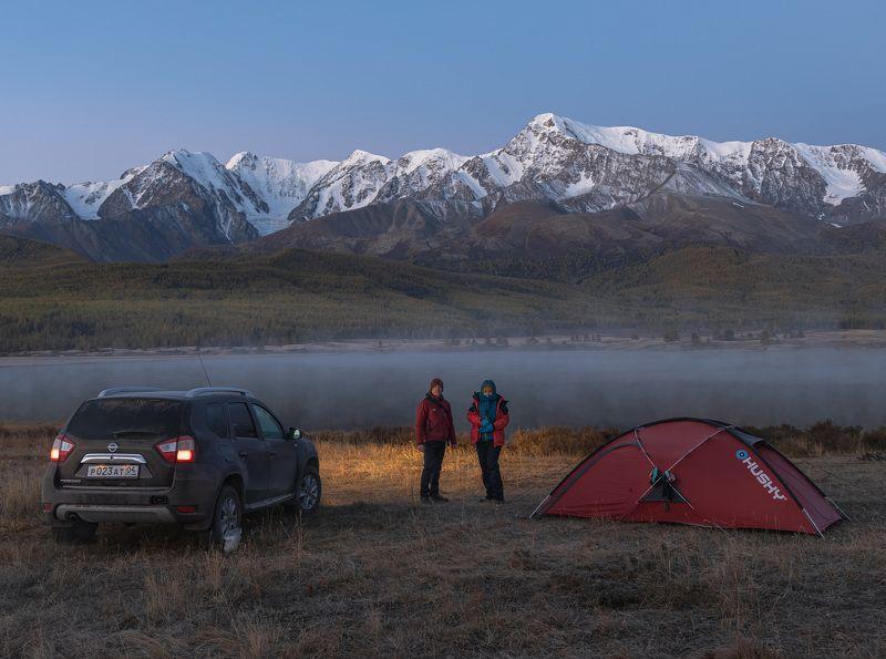 Раннее утро на озере Джангыскольphoto preview