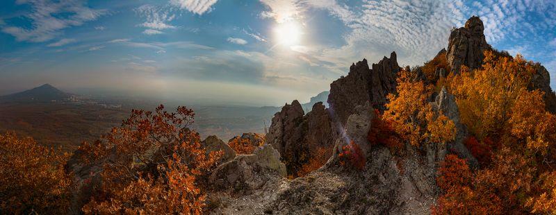 козьи скалы,бештау,природа,пейзаж,кмв, ставрополье,полдень,осень,октябрь Октябрьский полдень на Козьих скалахphoto preview