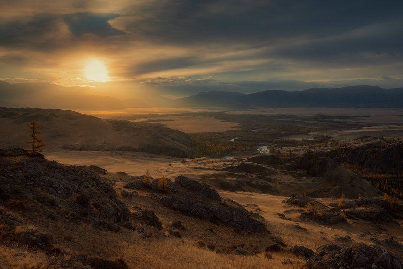 алтай,горы,курай разливая светphoto preview