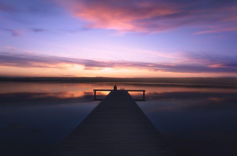 природа, nature photo, пейзаж, landscape, зауралье, курган, закат, sunset, sunrise, закат на озере, пирс, природа россии, russian nature Lonelenessphoto preview
