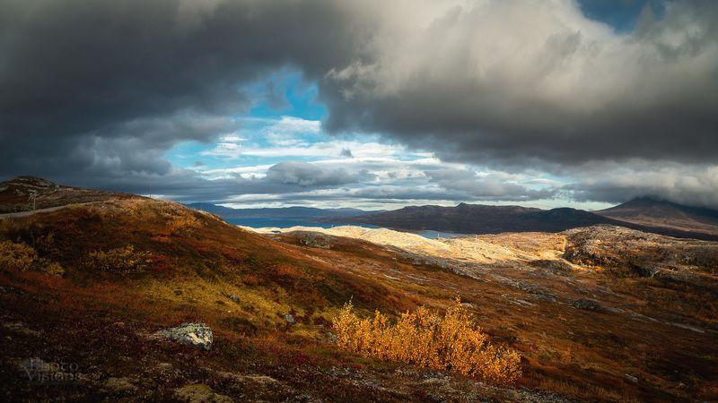 sylan,norway,autumn,autumnal,sky,clouds, Autumnal Sylan mountainsphoto preview