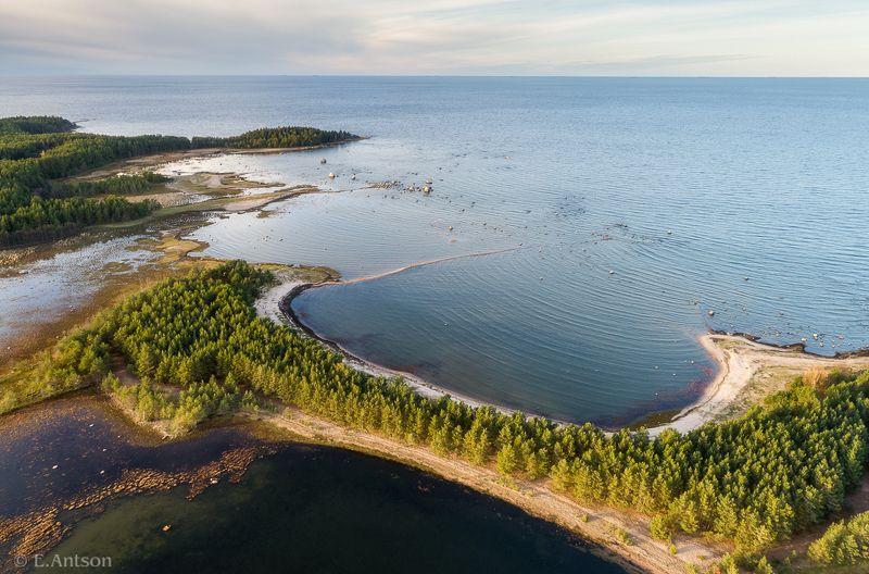 пейзаж, природа, эстония Вид на остров Улккариphoto preview