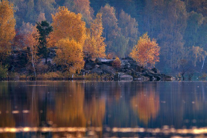 осень,пейзаж,озеро,подмосковье,закат ***photo preview