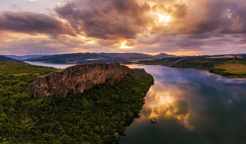 radomir, bulgaria, drone Nature Paintingphoto preview