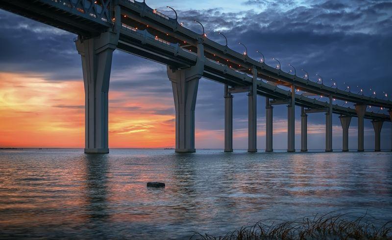 город,архитектура,мост,море Мост над моремphoto preview